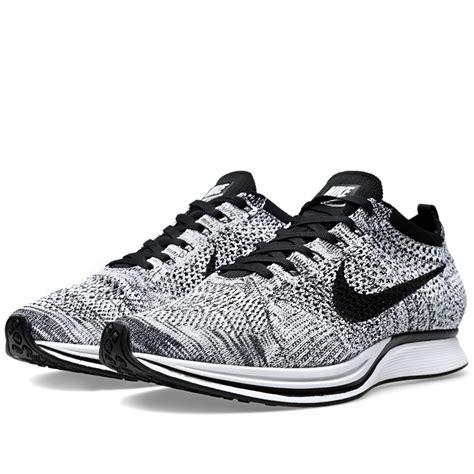 Sneakers Sepatu Nike Airforce Flyknit Racer Oreo Volt Premium40 44 nike flyknit racer femme nike air 1 pas cher air