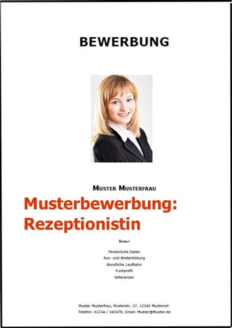 Bewerbung Als Rezeptionist Im Hotel Bewerbung Rezeptionist Rezeptionistin Bewerbung