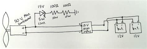 what does a diode do in a generator windmill generator voltage regulation with cling diode electrical engineering stack exchange