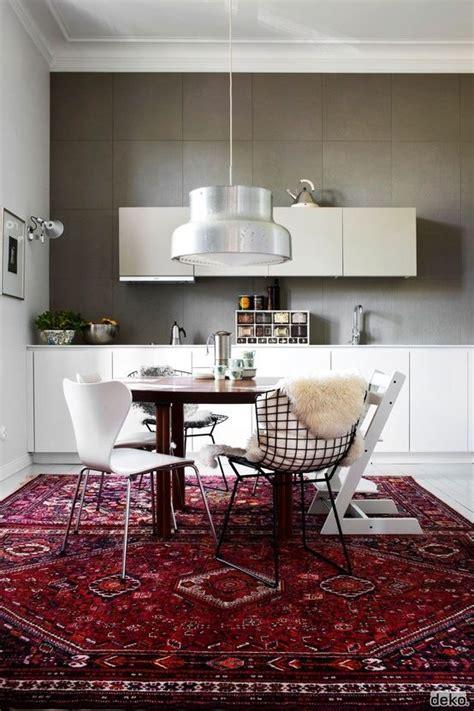 Kitchen Dining Area Rugs Rug With Modern Breakfast Nook Homedesignboard