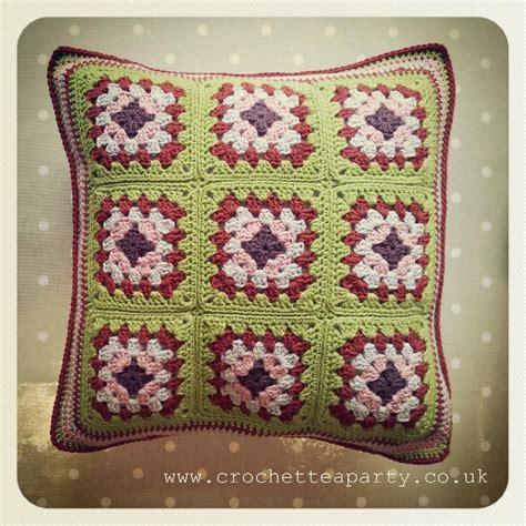 pattern crochet lshade granny square cushion cover crochet pattern by crochet tea