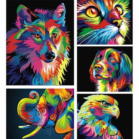 Diy Lukisan Warna Warni mewarnai gambar hewan beli murah mewarnai gambar hewan