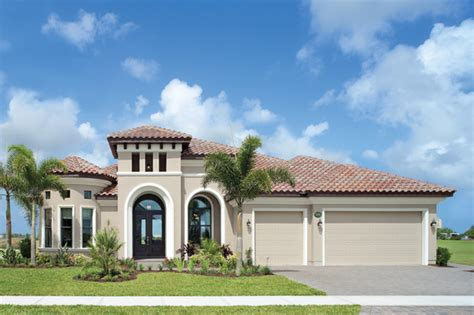 Home Design Tampa by Coquina 1177 Mediterranean Exterior Tampa By