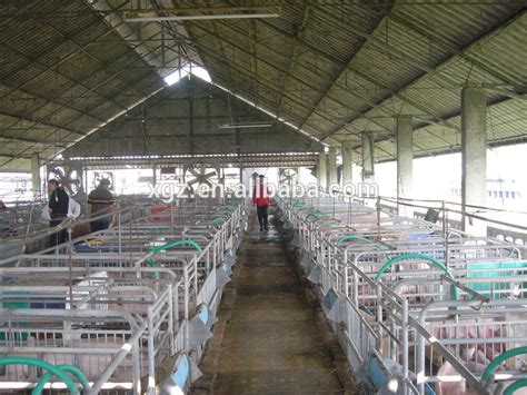pig farm house design prefab steel structure pig farm house buy pig farm house piggery house piggery shed product on