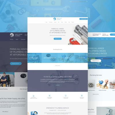 Plumbing Templates Templatemonster Ready Made Website Templates