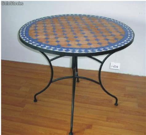 mesa jardin mosaico redondas y cuadradas - Mesas De Jardin Redondas