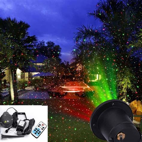 outdoor christmas lights snowfall effect dhl new multicolor snow ip65 outdoor waterproof elf laser