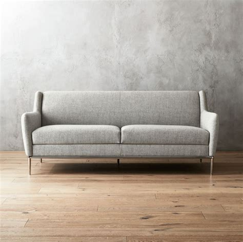 modern grey sofa modern and contemporary sofas loveseats