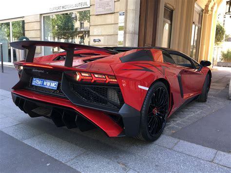 Neuer Lamborghini by Brand New Lamborghini Aventador Sv Roadster Delivery In