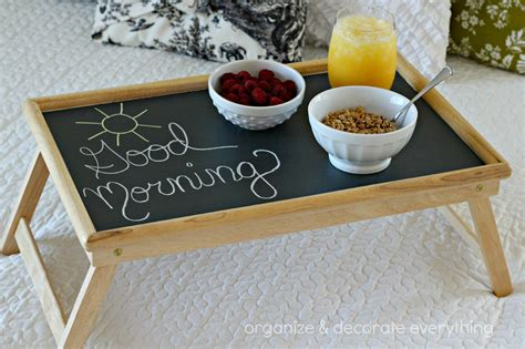 breakfast in bed table updated bed tray organize and decorate everything