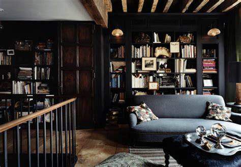 decorating tips for a masculine den beautiful black