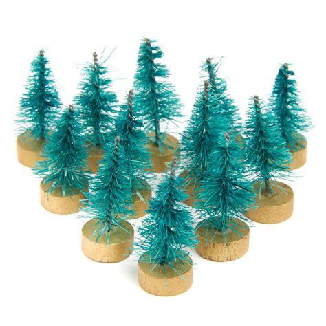 miniature bottle brush trees miniature green bottle brush trees miniatures