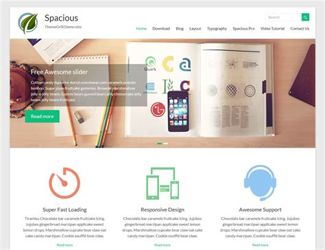 wordpress themes for gallery sites 17 best free responsive wordpress themes and templates 2016