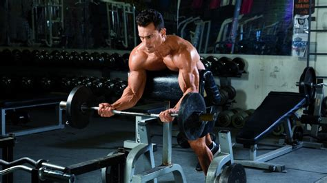 spider curl bench 4 classic exercises to build up your biceps muscle fitness