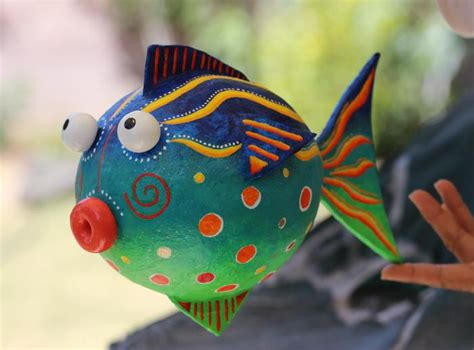 How To Make Paper Mache Fish - yessy gt andre senasac gt andre senasac gallery gt fish
