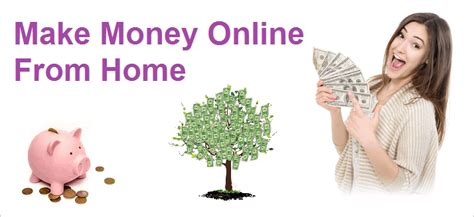 Make Money From Home Online - how to make money online from home without investment inconite