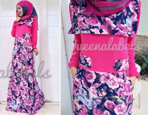 Dress Pesta Solemio Bunga Fanta new souza dress fanta baju muslim gamis modern