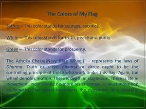 indian flag colors meaning cultural crossroadds india