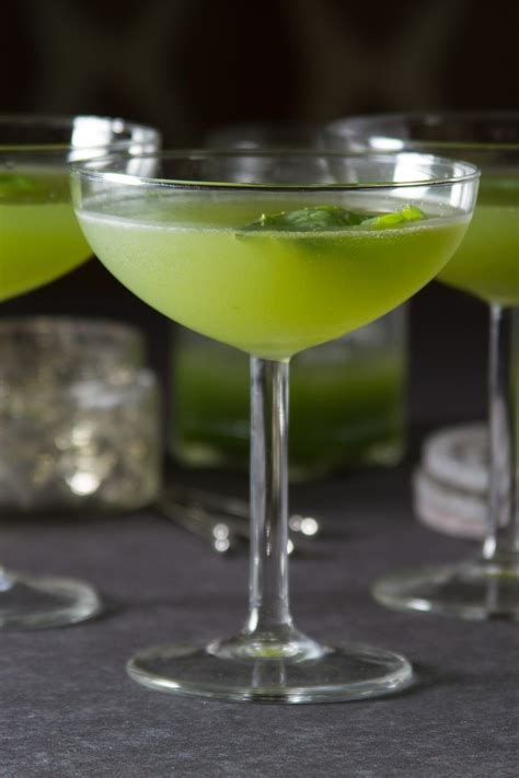 cucumber martini recipe cucumber basil gimlet brio recipe
