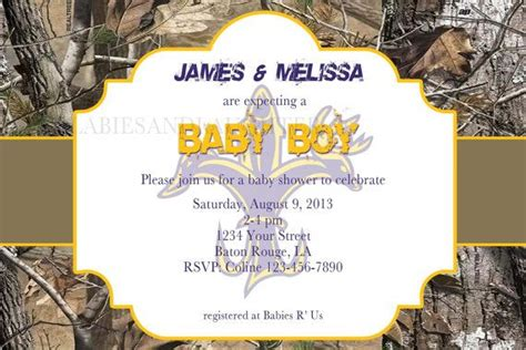 Realtree Camo Baby Shower Invitations by 1000 Images About Lil Baby Shower Ideas On