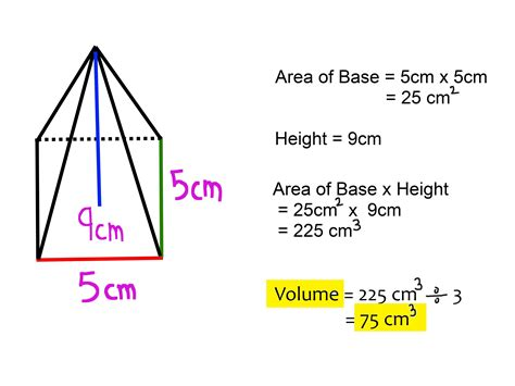 volume pyramid equation for volume of pyramid jennarocca