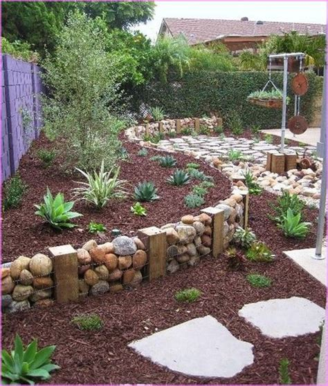 Backyard Ideas Diy 25 Best Cheap Landscaping Ideas On Cheap