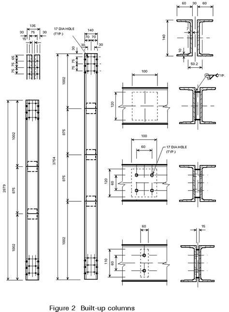 steel column section esdep wg 7