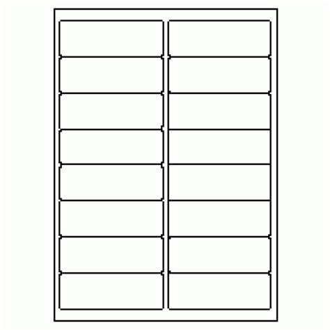 free labels template 16 per sheet 422 label size 97mm x 34mm 16 labels per sheet