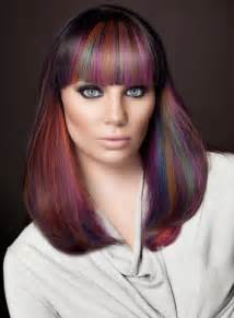 colorful haircut color punk and rock hairstyles for women wardrobelooks com