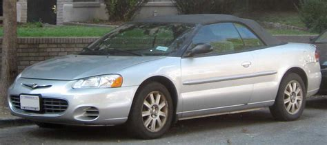 03 Chrysler Sebring by File 01 03 Chrysler Sebring Convertible Jpg Wikimedia