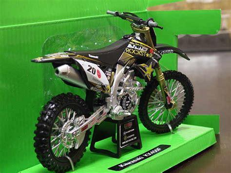 Newray 112 Kawasaki K 450f Hijau Putih kawasaki rockstar kx450f 1 12