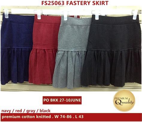 Premium Import Bangkok Bkk fastery skirt supplier baju bangkok korea dan hongkong premium quality import thailand