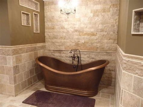 stone floor bathroom installing natural stone tile like marble slate or