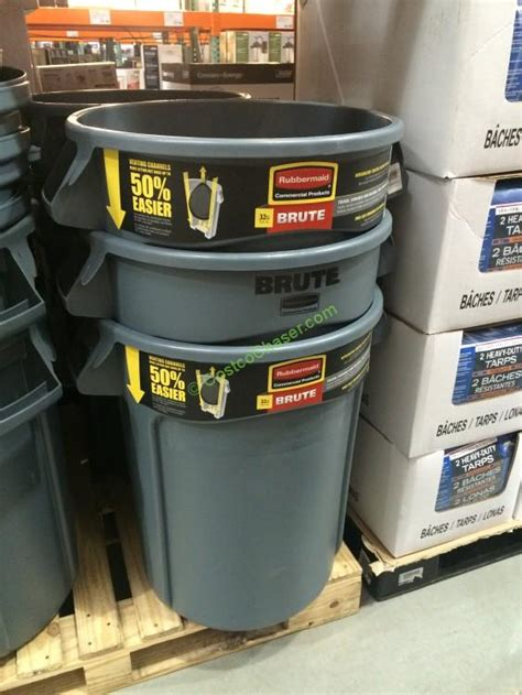 Kitchen Garbage Cans Costco Trash Cans Bags Costcochaser