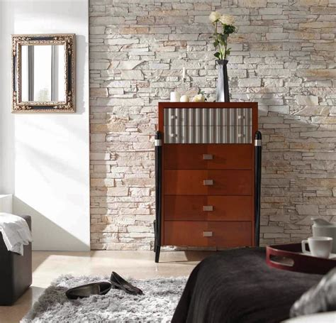 Home Decor Wall Panels by Faux Stone Wall Panels Decor For Bedroom Combined With