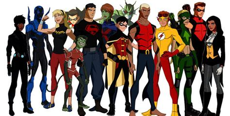imagenes de justicia joven cw developing young justice tv series for 2015