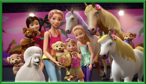 film barbie la grande aventure des chiots barbie et ses soeurs 224 la recherche des chiots 2016