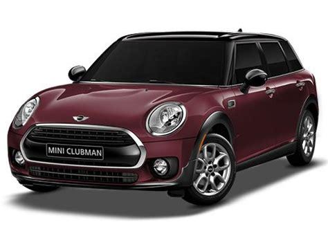 mini cooper car price in mumbai new mini clubman price in india review pics specs