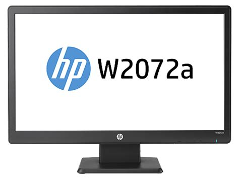 Monitor Led Hp W2072a hp w2072a 20 inch diagonal led backlit lcd monitor hp 174 official store