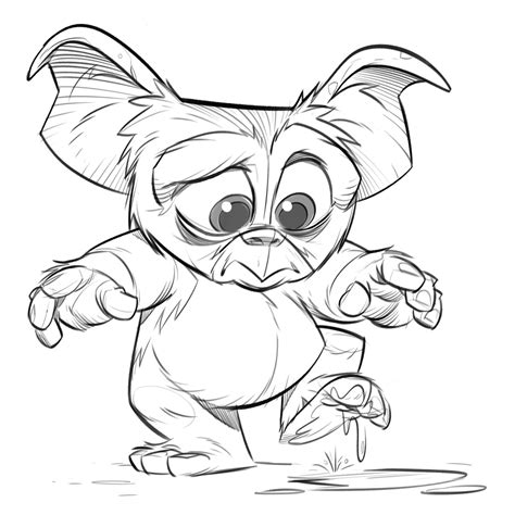 Gizmo Gremlins Coloring Pages Sketch Coloring Page Gremlins Coloring Pages