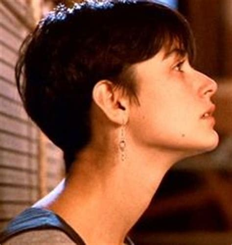 demi moore haircut in ghost the movie hair style on pinterest winona ryder kristen stewart