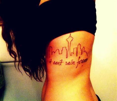 minimalist tattoo chicago seattle skyline tattoo seattle skyline and skyline tattoo