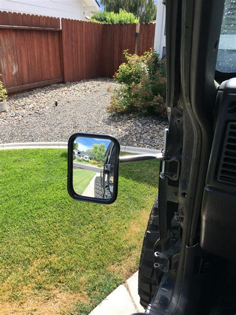 doorless jeep mirrors 98 doorless mirror mod jeep cherokee forum