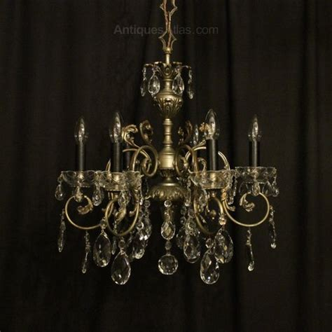 Antique Italian Silver Gilt Metal And 9 Light Chandelier Antiques Atlas Italian Silver Gilded 6 Light Chandelier