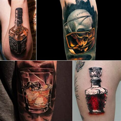 cocktail tattoo designs stunning tattoos for bartenders best cocktail drink