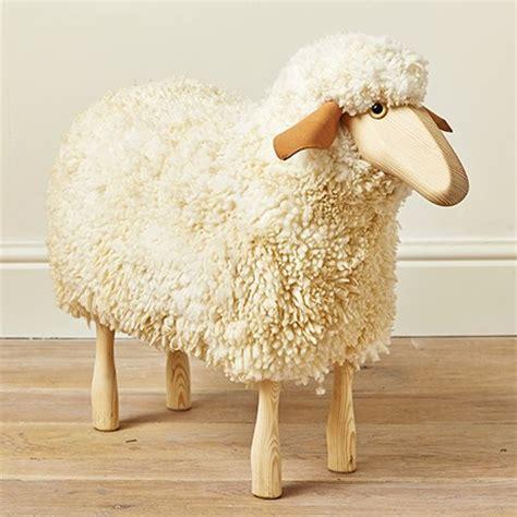 wooden sheep stool mary kilvertmary kilvert