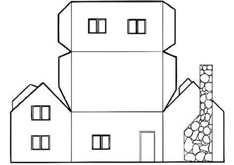 casa da colorare disegno da colorare casa cat 12828