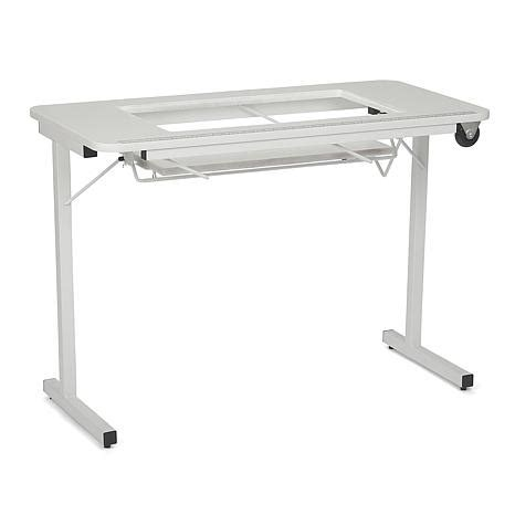 gidget sewing machine table gidget ii folding sewing table with wheels 6882161 hsn