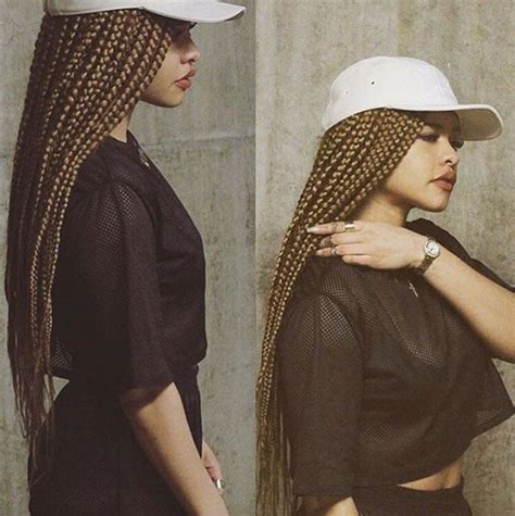 poetic braids with burgundy brown skin 17 best images about box braids on pinterest big box