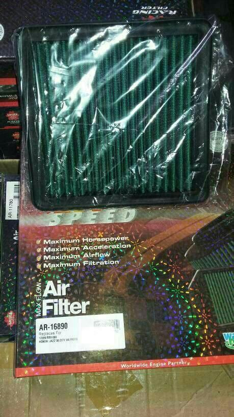 Filter Udara Honda Freed jual filter udara racing honda mobilio brio freed